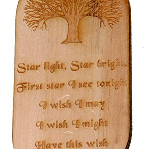Fairy Poem Plaque – Pine
